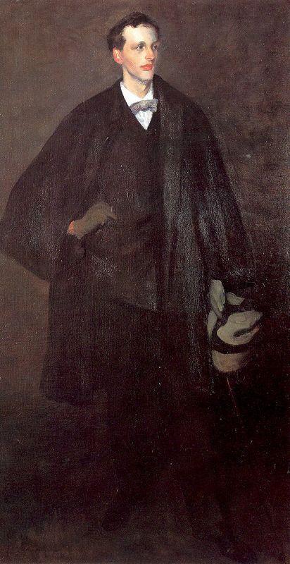 Portrait Of Charles Fitzgerald - William James Glackens