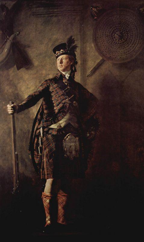 Portrait of Colonel Alasdair Mcdonnell of Glengarry - Henry Raeburn
