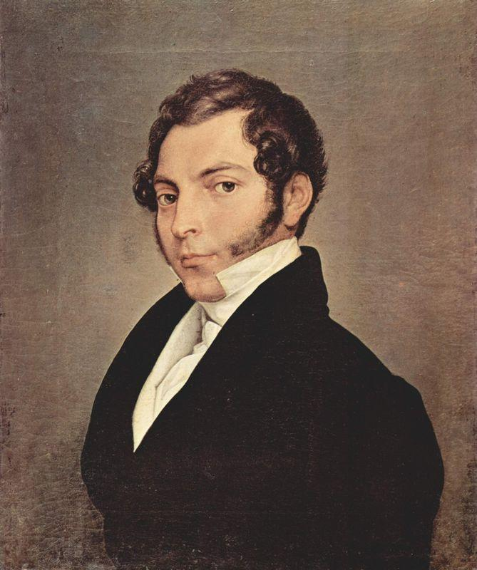 Portrait of Conte Ninni - Francesco Hayez