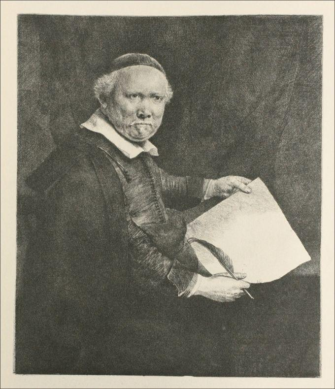 Portrait of Coppenol - Rembrandt
