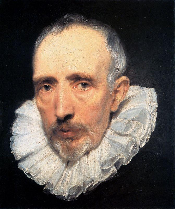 Portrait of Cornelis van der Geest - Anthony van Dyck