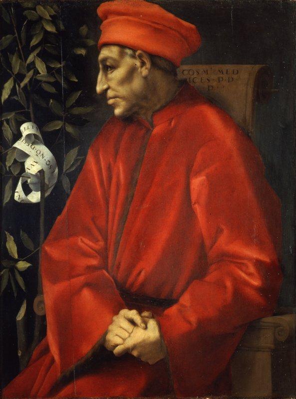 Portrait of Cosimo de' Medici the Elder - Jacopo Pontormo