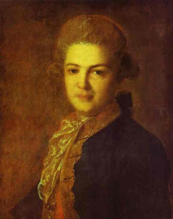 Portrait of Count Artemiy Ivanovich Vorontsov - Fyodor Rokotov
