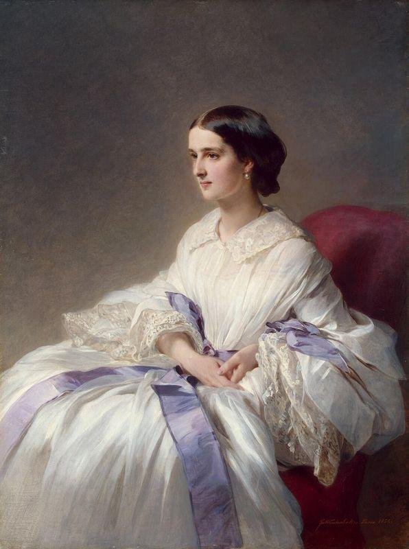 Portrait of Countess Olga Shuvalova - Franz Xaver Winterhalter