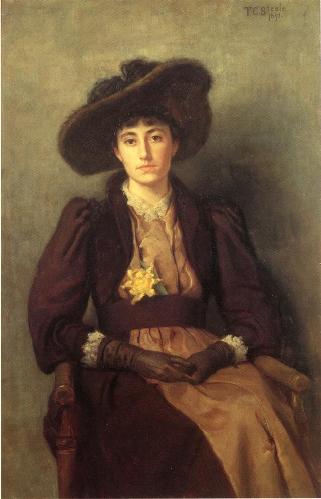 Portrait of Daisy - T. C. Steele