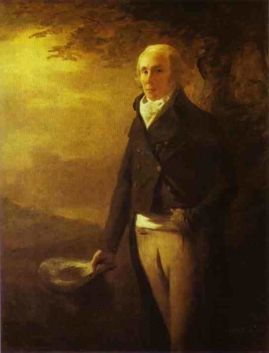 Portrait of David Anderson - Henry Raeburn