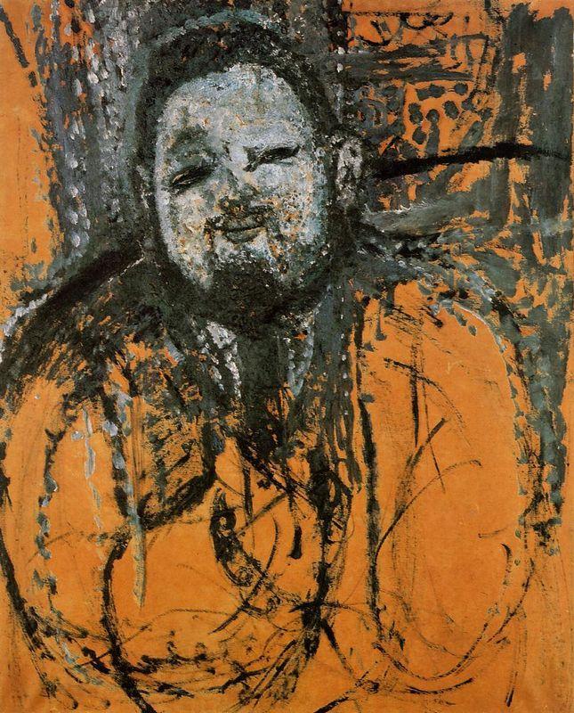 Portrait of Diego Rivera  - Amedeo Modigliani