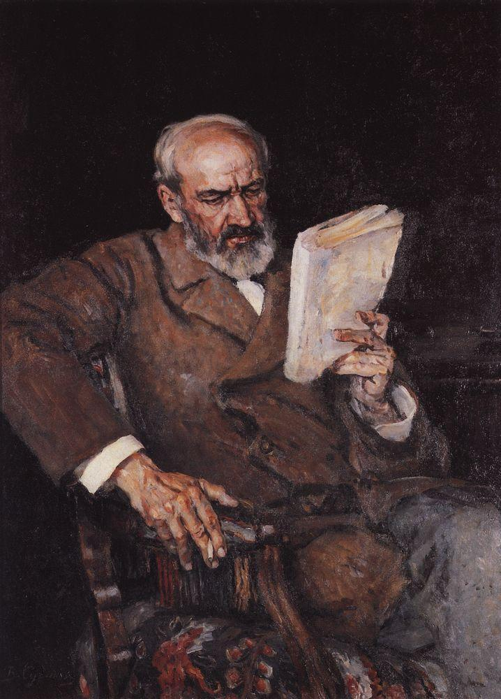 Portrait of doctor A. D. Yesersky - Vasily Surikov