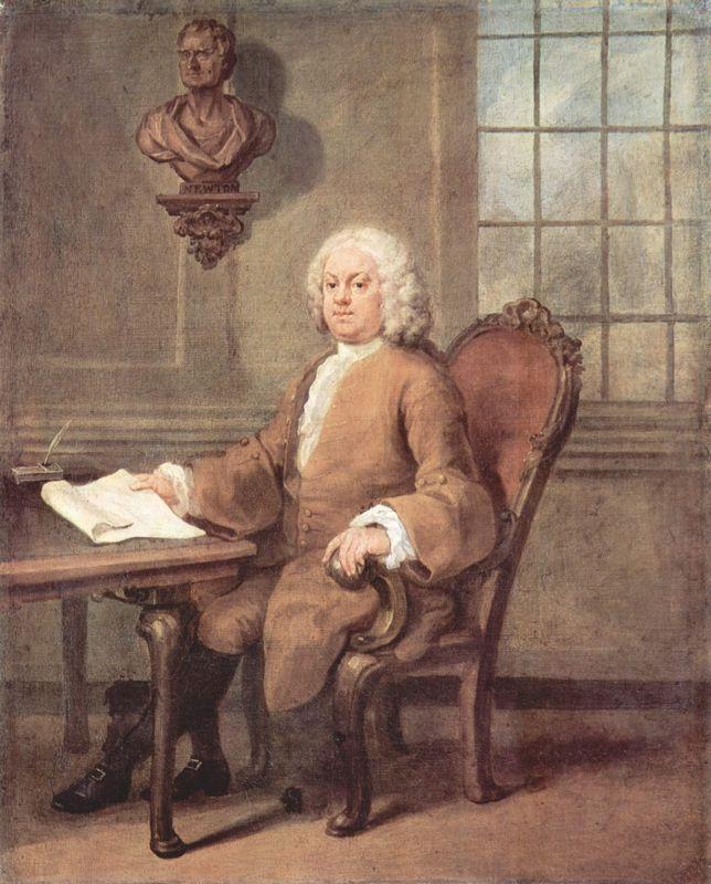 Portrait of Dr. Benjamin Hoadly - William Hogarth