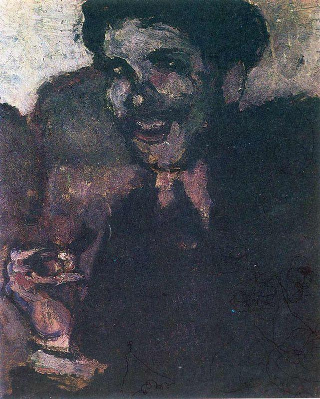 Portrait of Dr. Ferdinand Tribout - Marcel Duchamp