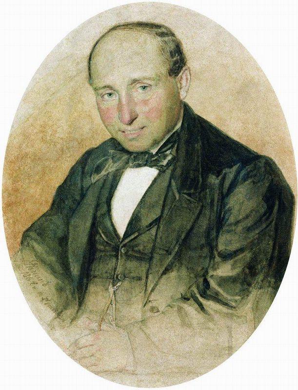 Portrait of Dr. G. Kostrov - Ilya Repin