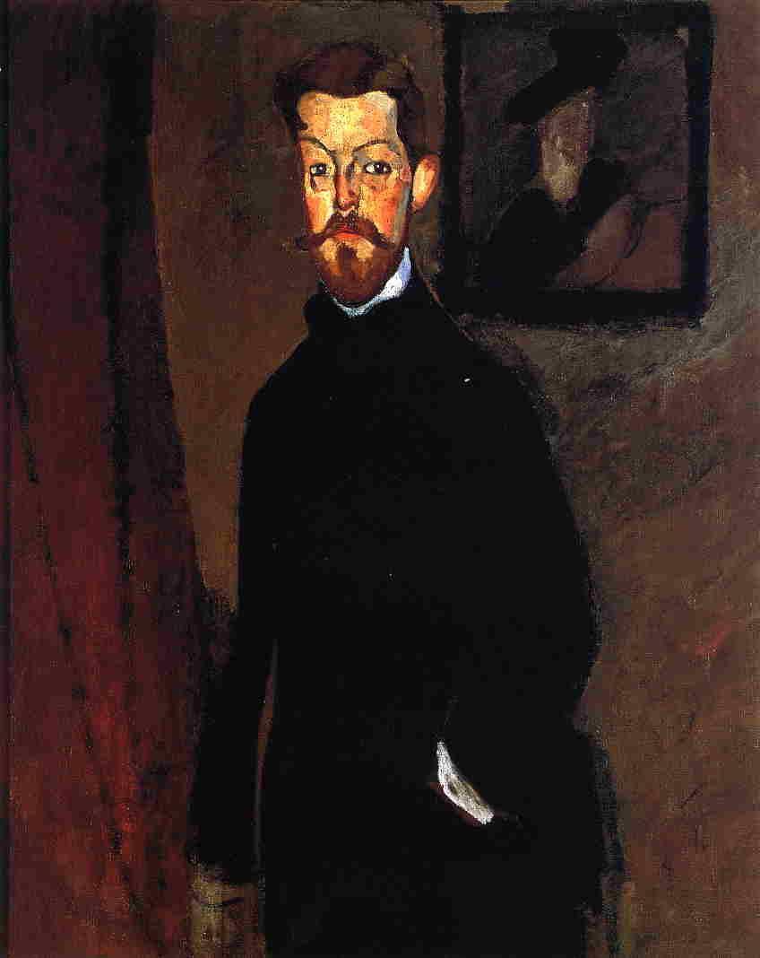 Portrait of Dr. Paul Alexandre - Amedeo Modigliani