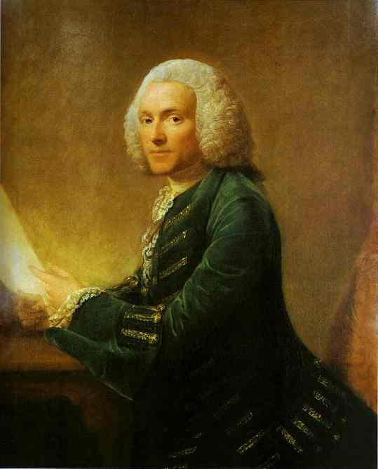 Portrait of Dr.William Hunter - Allan Ramsay