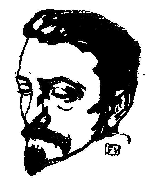 Portrait of Dutch writer Multatuli  - Felix Vallotton