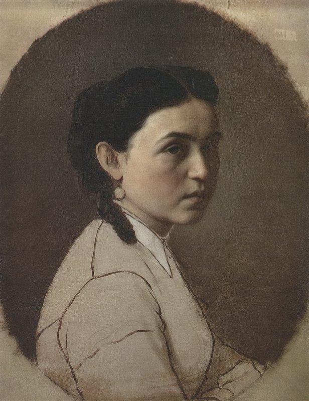 Portrait of E.E. Perov - Vasily Perov