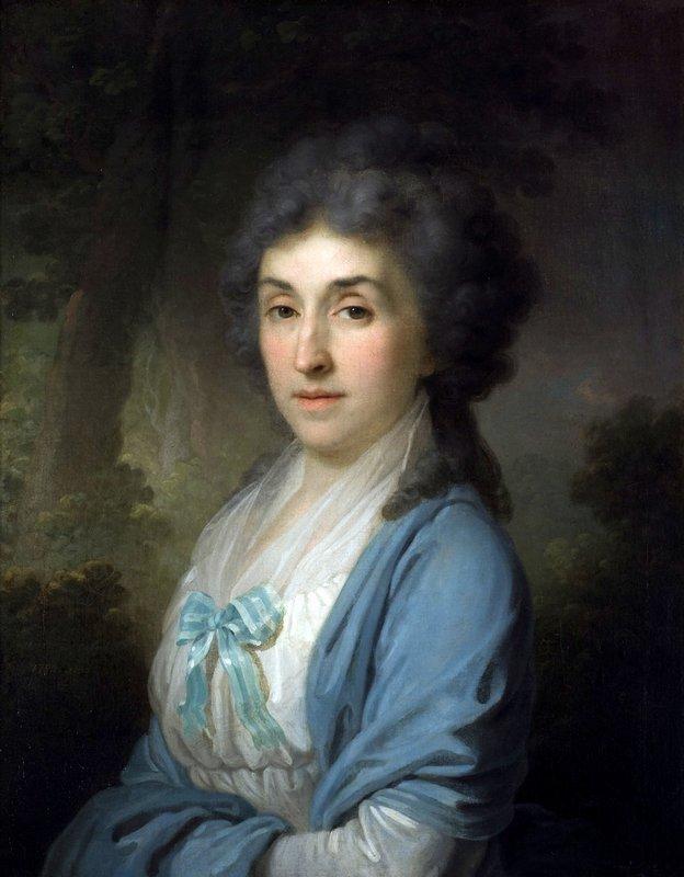 Portrait of Ekaterina Aleksandrovna Novosiltseva - Vladimir Borovikovsky