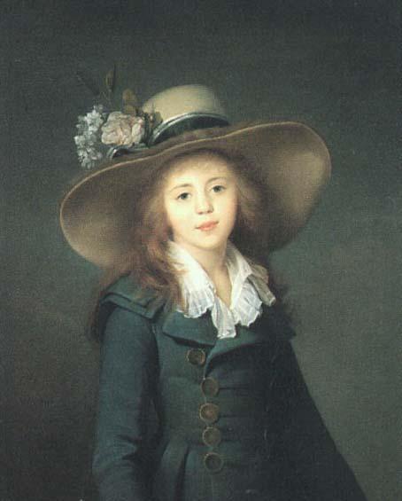 Portrait of Elisaveta Alexandrovna Demidova, nee Stroganova - Louise Elisabeth Vigee Le Brun