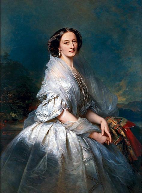 Portrait of Eliza Franciszka of Branicki Krasinska - Franz Xaver Winterhalter