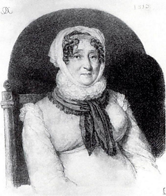 Portrait of Elizabeth Olenina - Orest Kiprensky