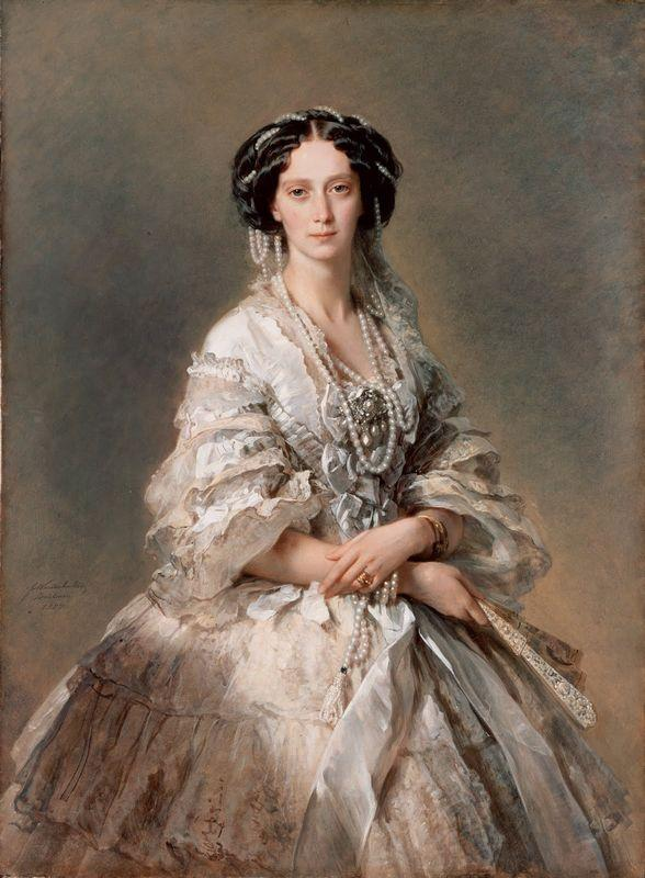 Portrait of Empress Maria Alexandrovna  - Franz Xaver Winterhalter