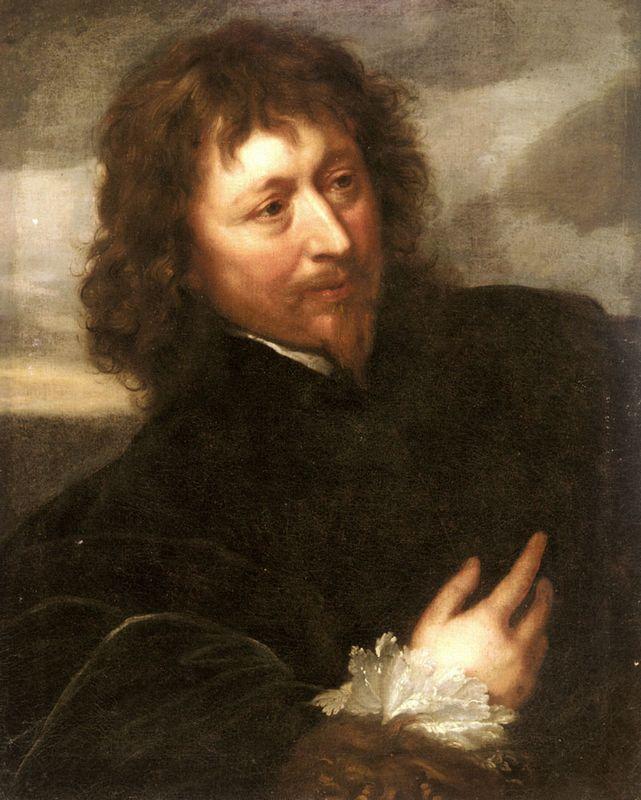 Portrait of Endymion Porter - Anthony van Dyck