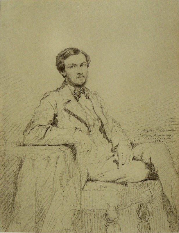 Portrait of Eugene `Lacheur - Gustave Moreau