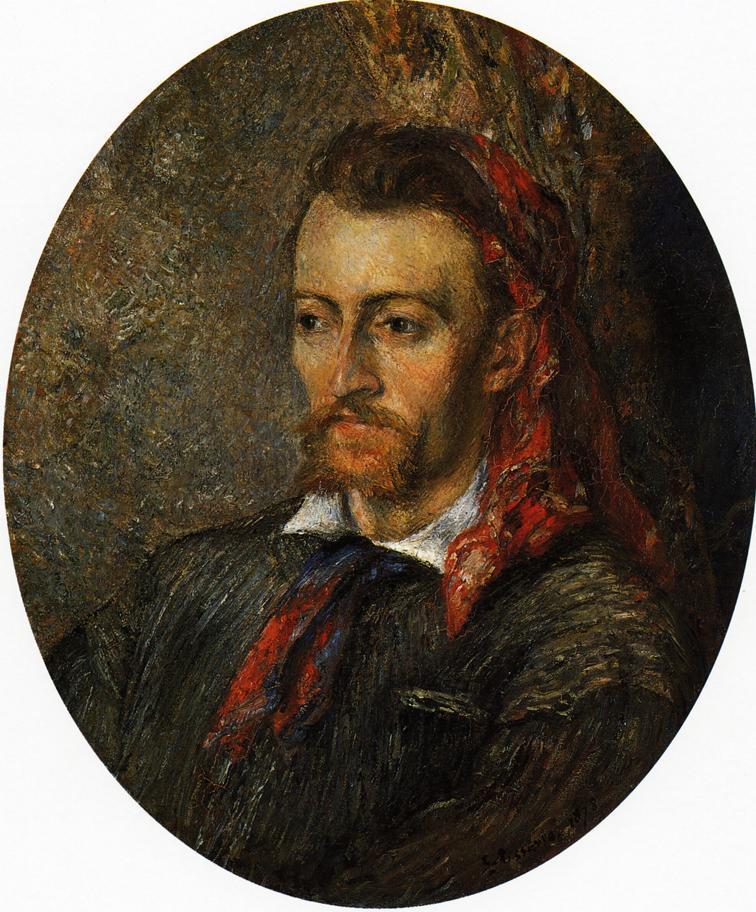 Portrait of Eugene Murer - Camille Pissarro