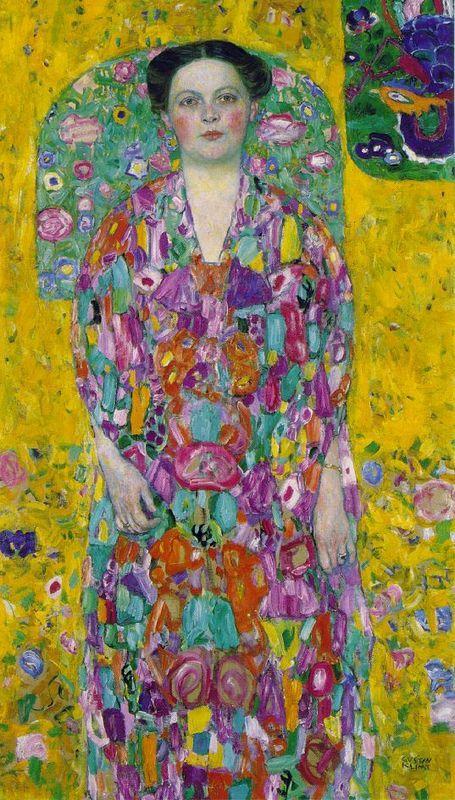 Portrait Of Eugenia Primavesi - Gustav Klimt