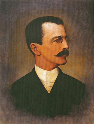Portrait of Ezequiel Freire - Jose Ferraz de Almeida Junior