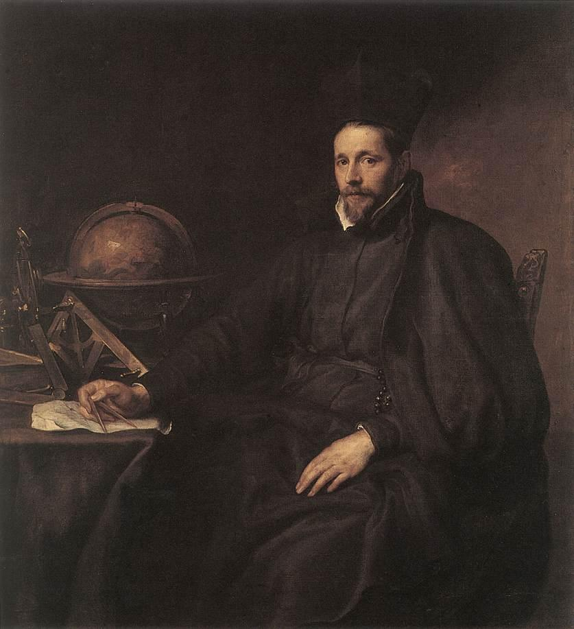 Portrait of Father Jean Charles della Faille - Anthony van Dyck
