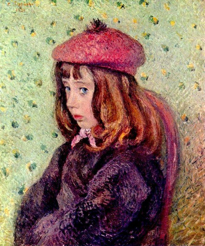 Portrait of Felix Pissarro - Camille Pissarro
