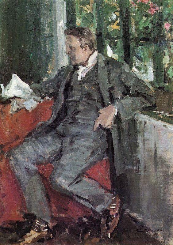 Portrait of Feodor Chaliapin - Konstantin Korovin