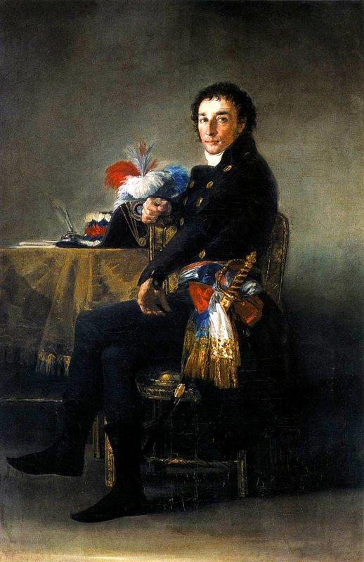 Portrait of Ferdinand Guillemardet - Francisco Goya