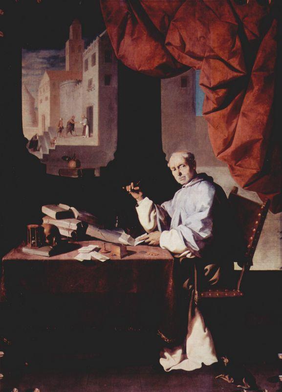 Portrait of Fra Gonzalo de Illescas - Francisco de Zurbaran