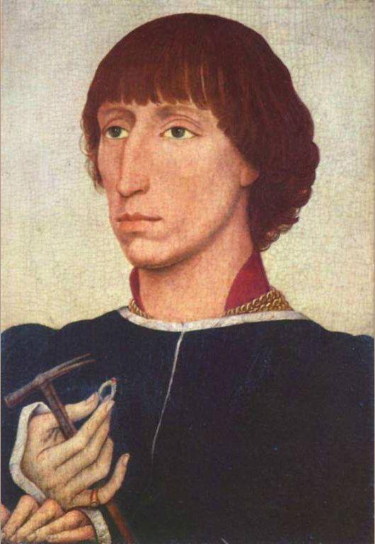 Portrait of Francesco d'Este - Rogier van der Weyden