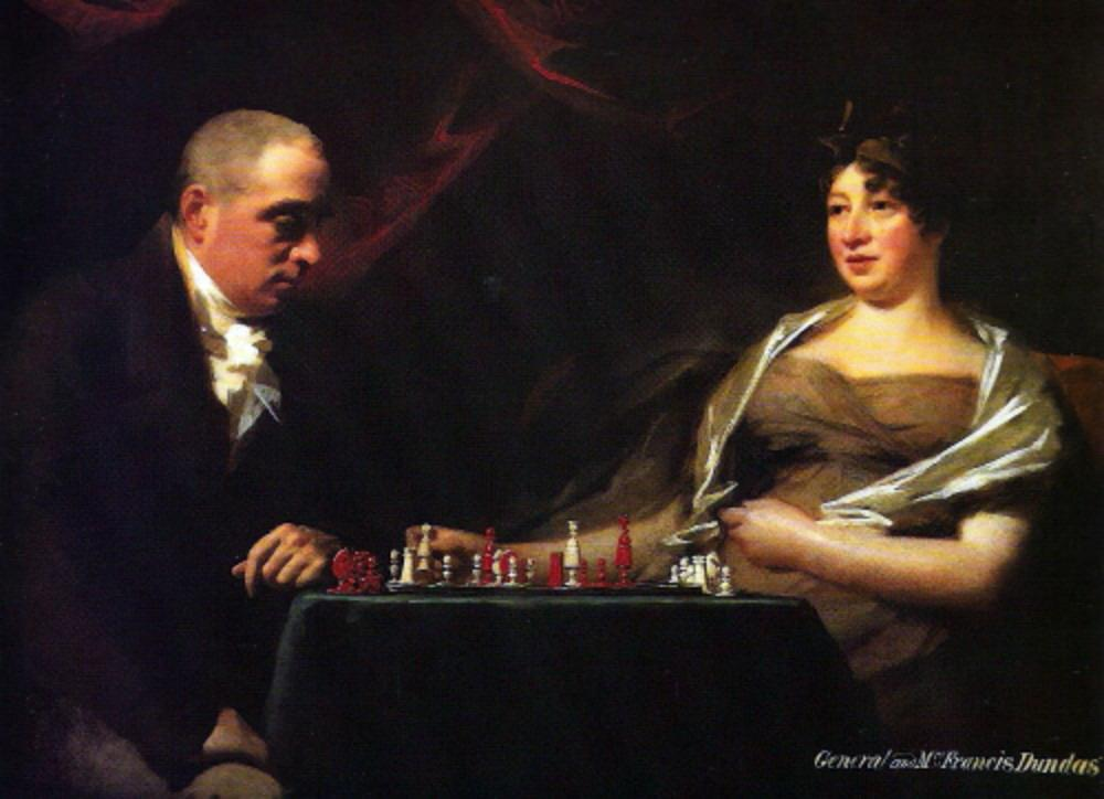 Portrait of Francis and his wife Eliza Dundas Cumming - Henry Raeburn
