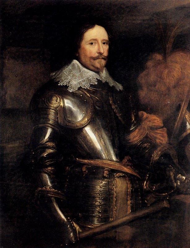 Portrait Of Frederik Hendrik - Anthony van Dyck