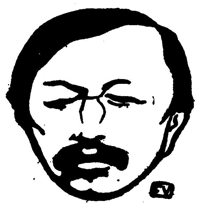 Portrait of French poet Gustave Kahn  - Felix Vallotton