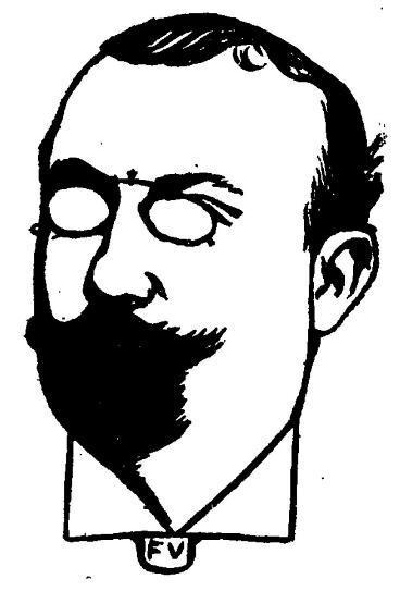 Portrait of French writer Henri Mazel  - Felix Vallotton