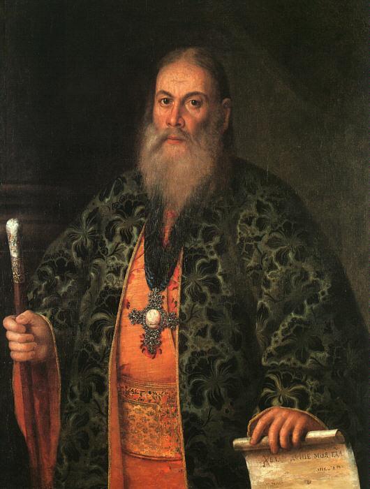 Portrait of Fyodor Dubyansky - Aleksey Antropov