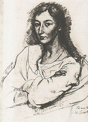 Portrait of G. I. Teslenko - Zinaida Serebriakova