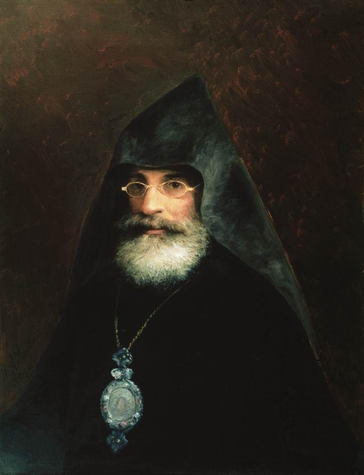 Portrait of Gabriel Aivazian, the Artist's brother - Ivan Aivazovsky