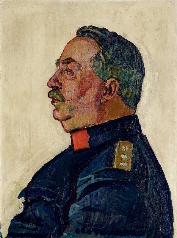Portrait of General Ulrich Wille - Ferdinand Hodler