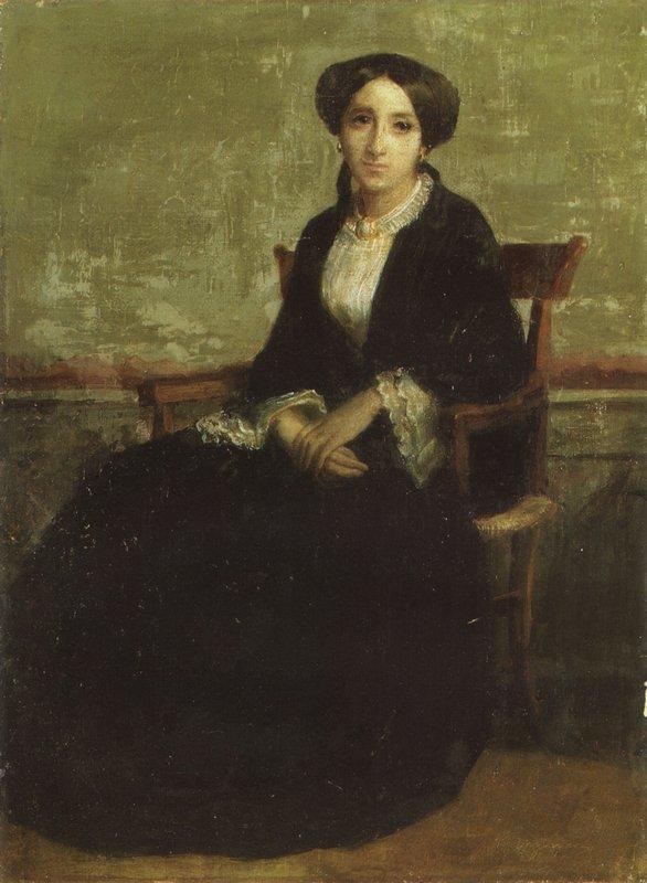 Portrait of Genevieve Celine - William-Adolphe Bouguereau