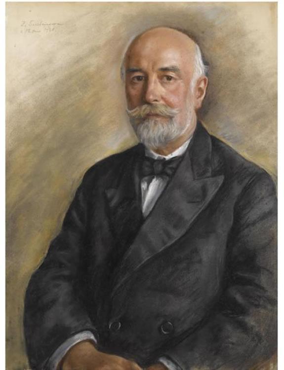 Portrait of gentleman - Zinaida Serebriakova