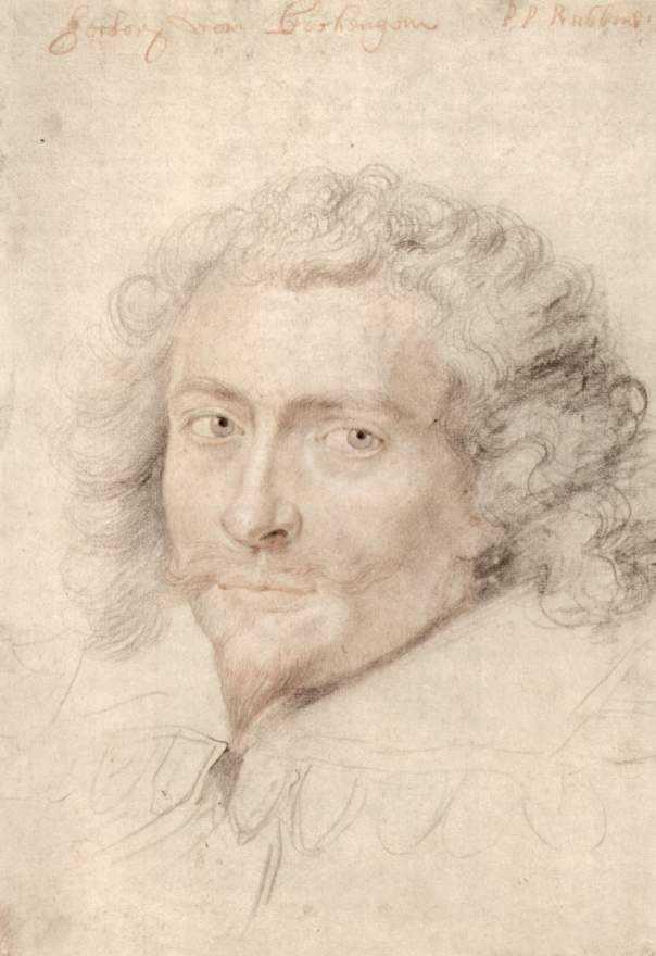Portrait of George Vilie - Peter Paul Rubens