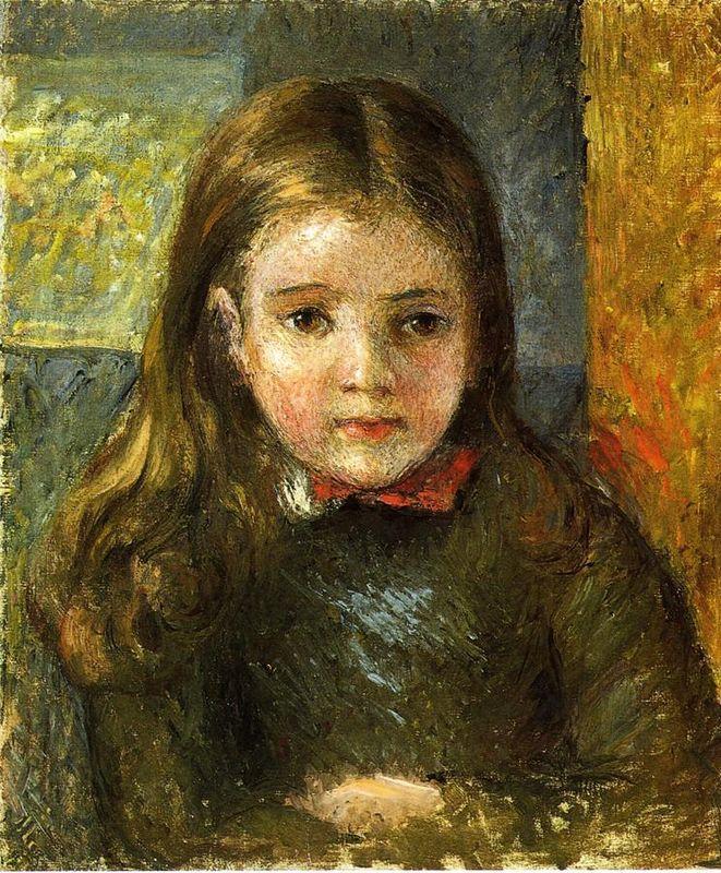Portrait of Georges - Camille Pissarro