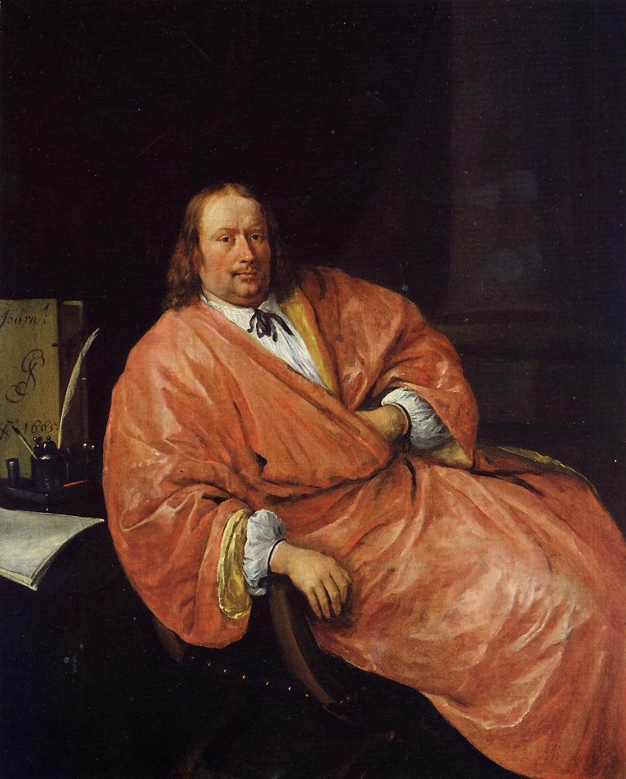 Portrait of Gerrit Gerritsz Schouten - Jan Steen