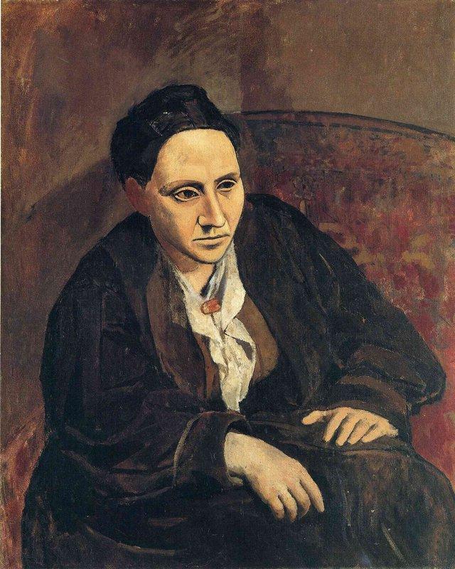 Portrait of Gertrude Stein - Pablo Picasso