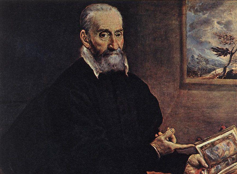 Portrait of Giulio Clovio - El Greco